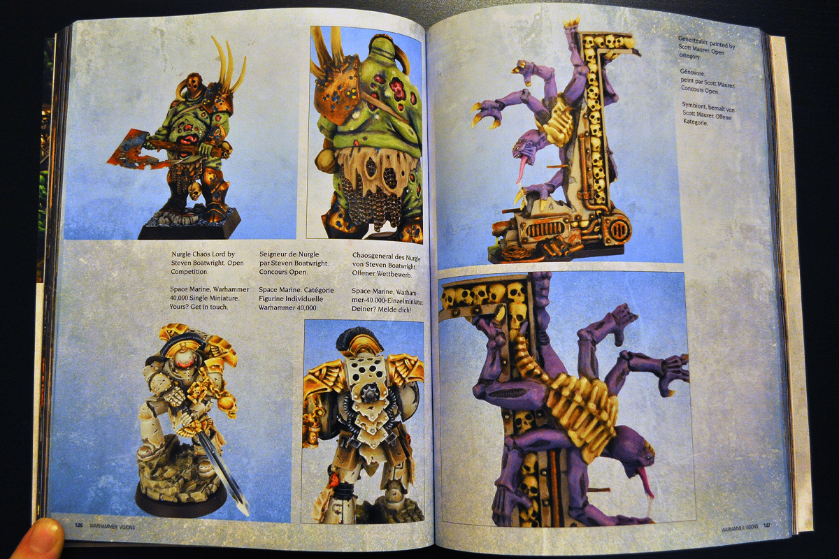 Warhammer Visions March 2014 Parade Ground