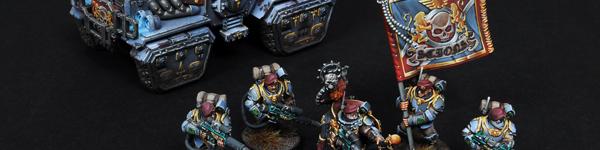 Militarum Tempestus Scions with Taurox Prime