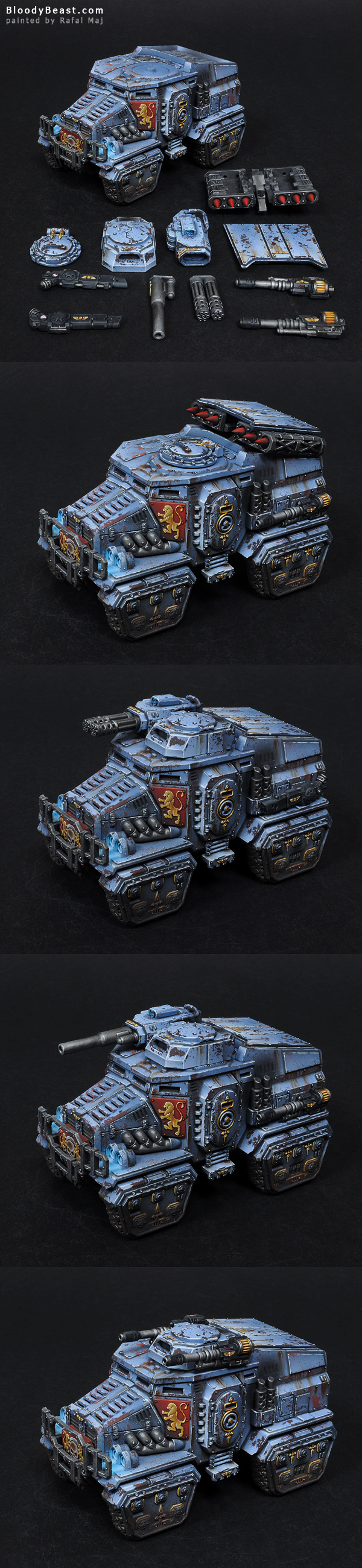 Taurox Prime painted by Rafal Maj (BloodyBeast.com)