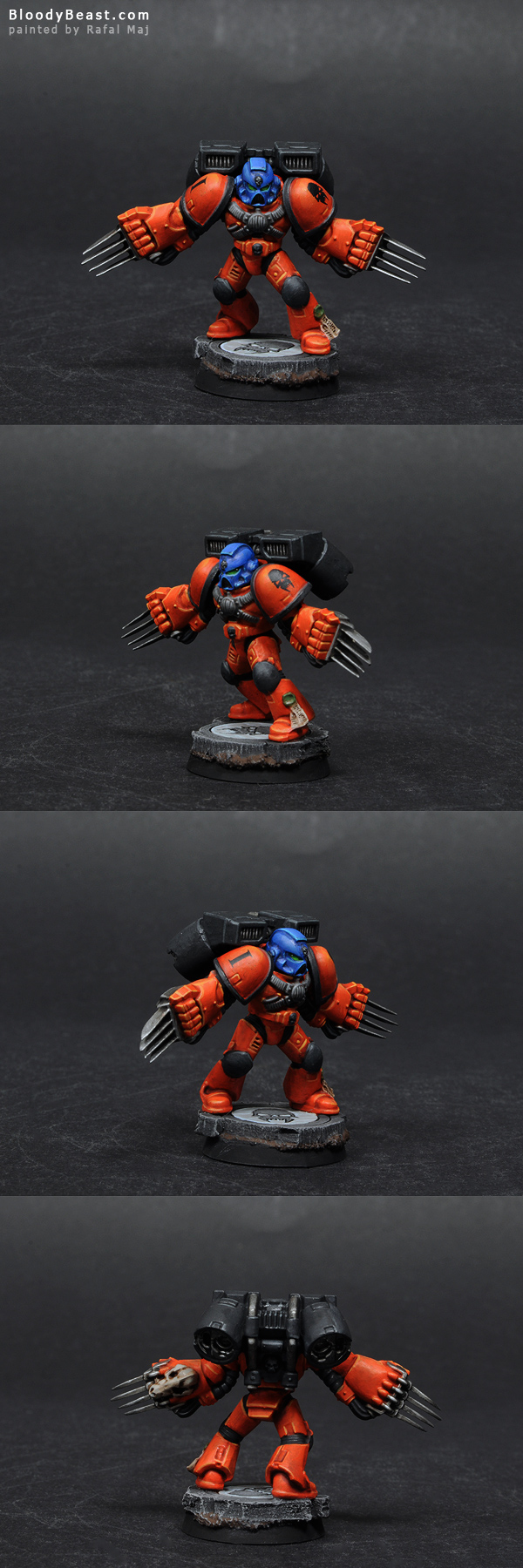 Astral Tigers Assault Squad Sergeant painted by Rafal Maj (BloodyBeast.com)
