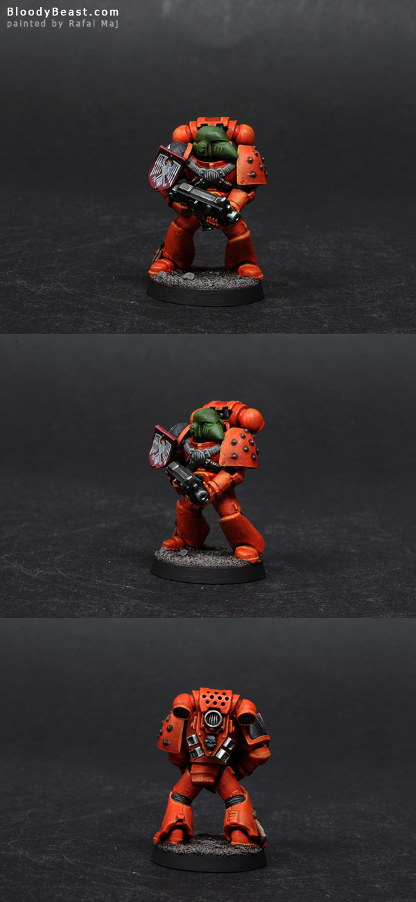 Astral Tigers Tactical Squad Corporal Raphael painted by Rafal Maj (BloodyBeast.com)