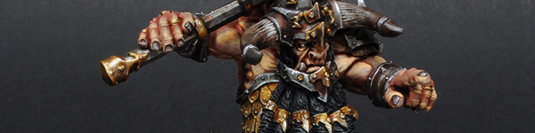 Forge World Chaos Dwarf Bull Centaur Taur'ruk