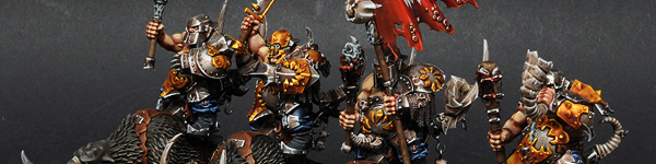 Ogre Mournfang Cavalry