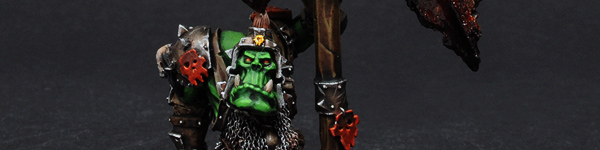 Forge World Orc Battle Standard Bearer
