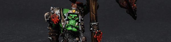 Forge World Orc Battle Standard Bearer