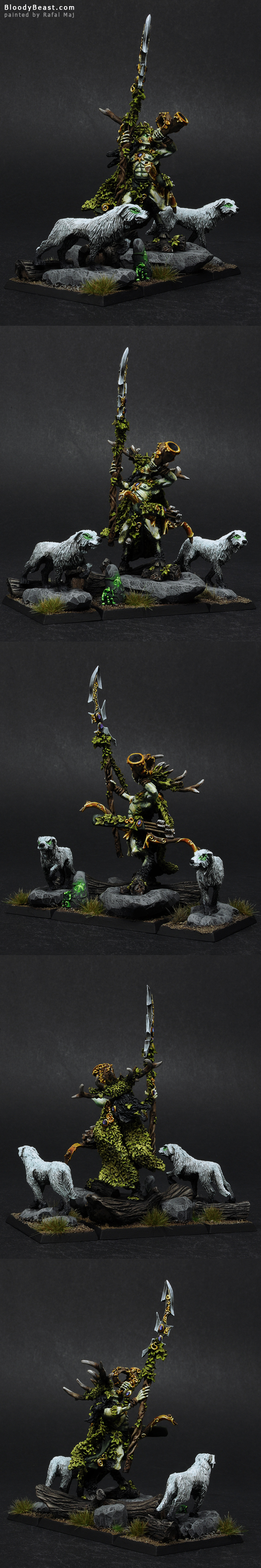 Orion, King in the Woods painted by Rafal Maj (BloodyBeast.com)