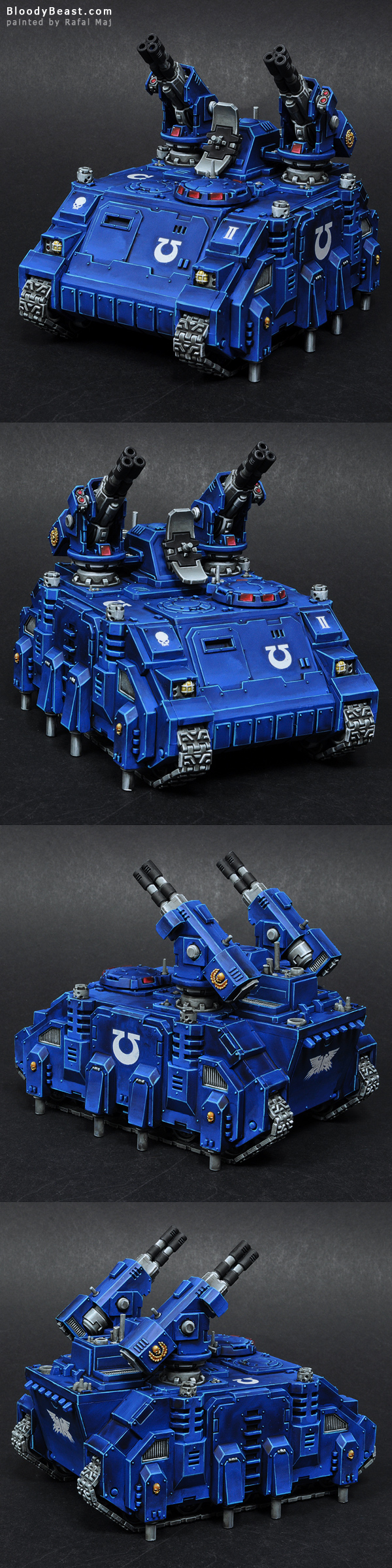 Space Marines Ultramarines Stalker painted by Rafal Maj (BloodyBeast.com)