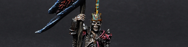 Forge World Vampire Counts Wight King Battle Standard Bearer