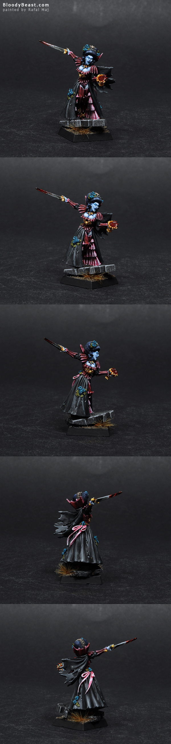 Isabella Von Carstein painted by Rafal Maj (BloodyBeast.com)