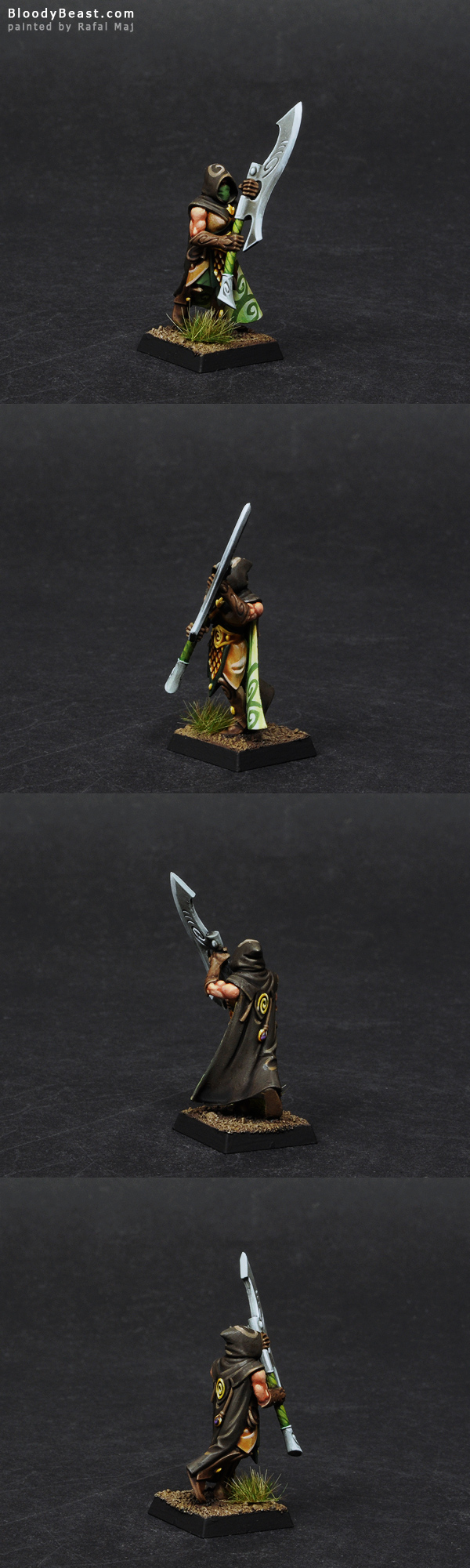 Wood Elf Wildwood Ranger painted by Rafal Maj (BloodyBeast.com)