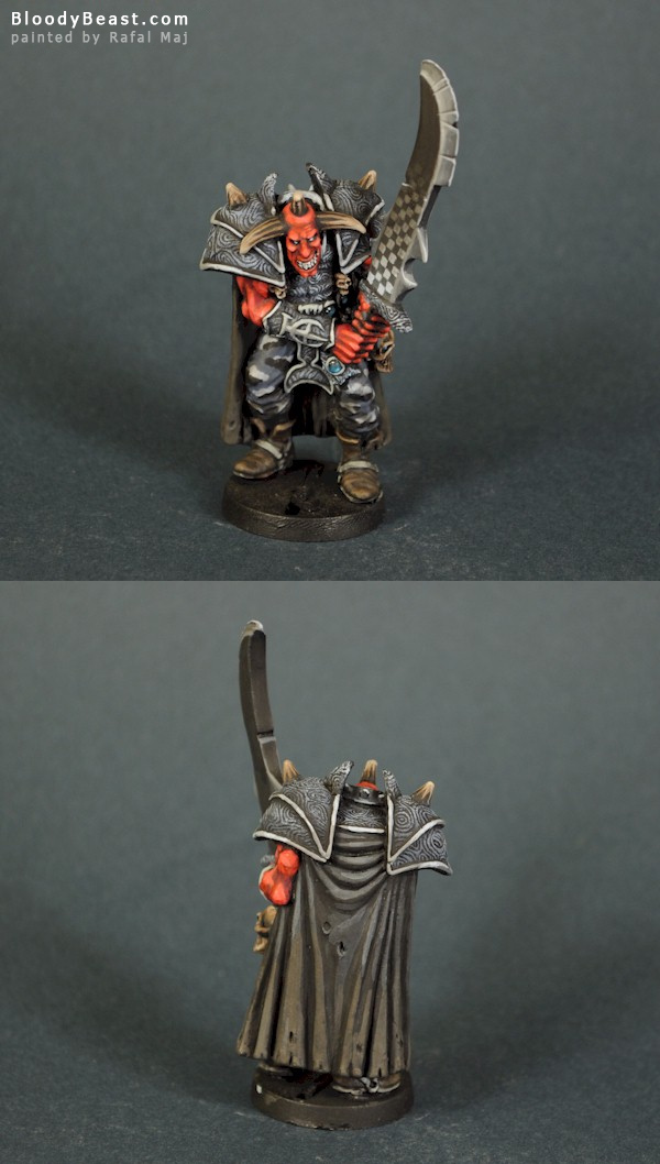 Alakhai the Cunning painted by Rafal Maj (BloodyBeast.com)