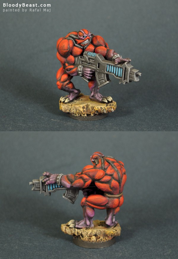 Dark Legion Cults Neronian Razide painted by Rafal Maj (BloodyBeast.com)