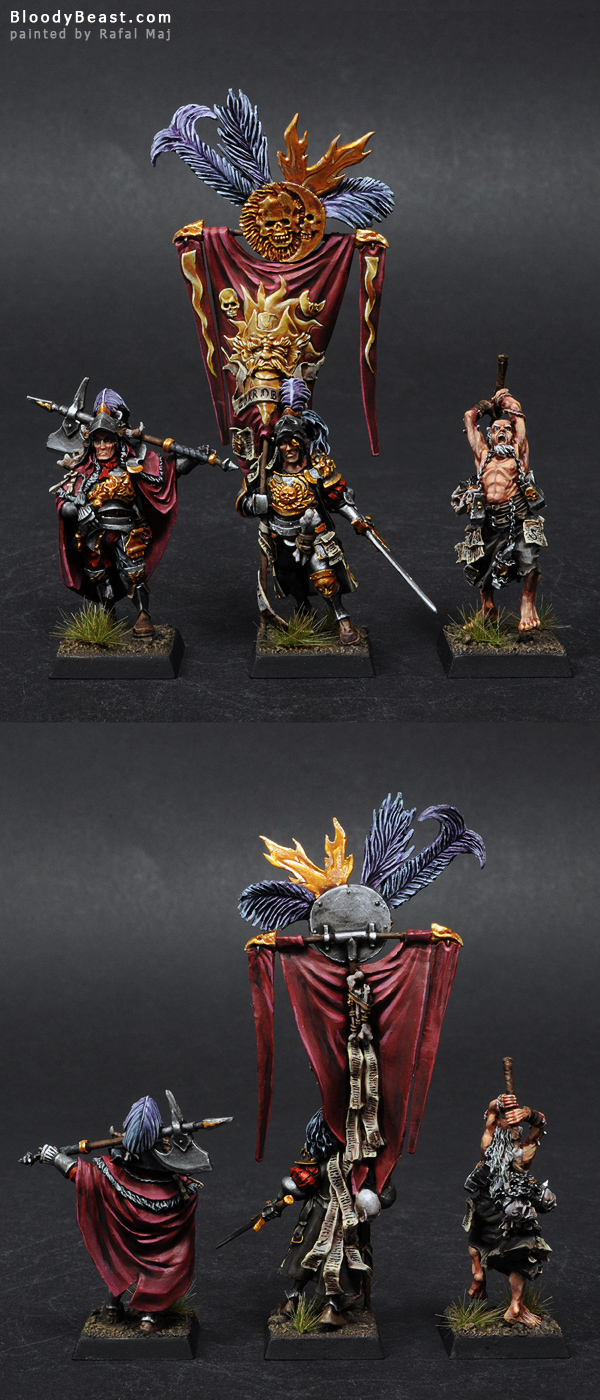 Empire Command Set painted by Rafal Maj (BloodyBeast.com)