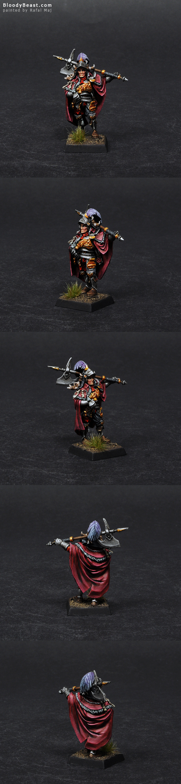 The Empire Command Captain painted by Rafal Maj (BloodyBeast.com)