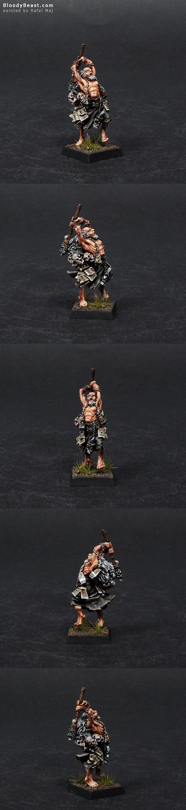 The Empire Warrior Priest painted by Rafal Maj (BloodyBeast.com)