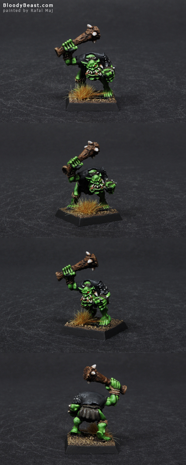 Azohgs Fearsome Orc painted by Rafal Maj (BloodyBeast.com)