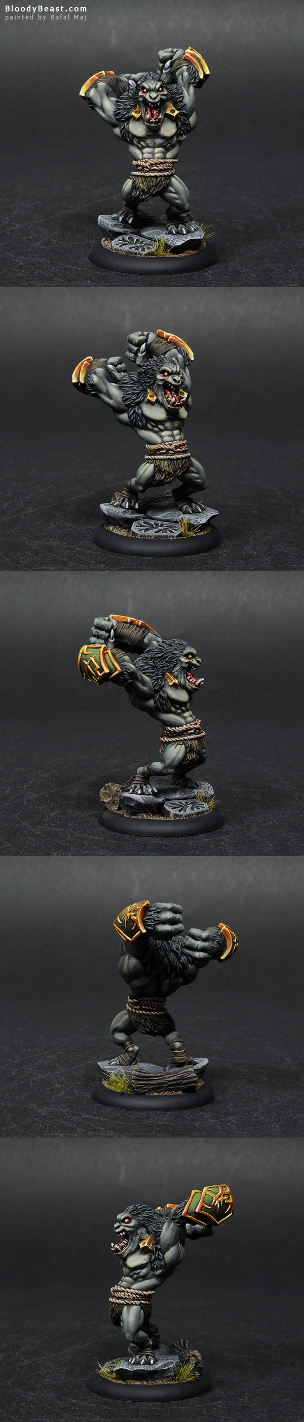Gorax painted by Rafal Maj (BloodyBeast.com)