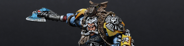 Space Wolves Logan Grimnar