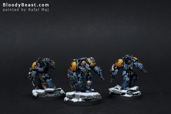 Space Wolves Lone Wolves painted by Rafal Maj (BloodyBeast.com)