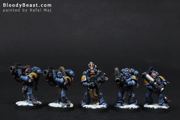 Space Wolves Long Fangs painted by Rafal Maj (BloodyBeast.com)