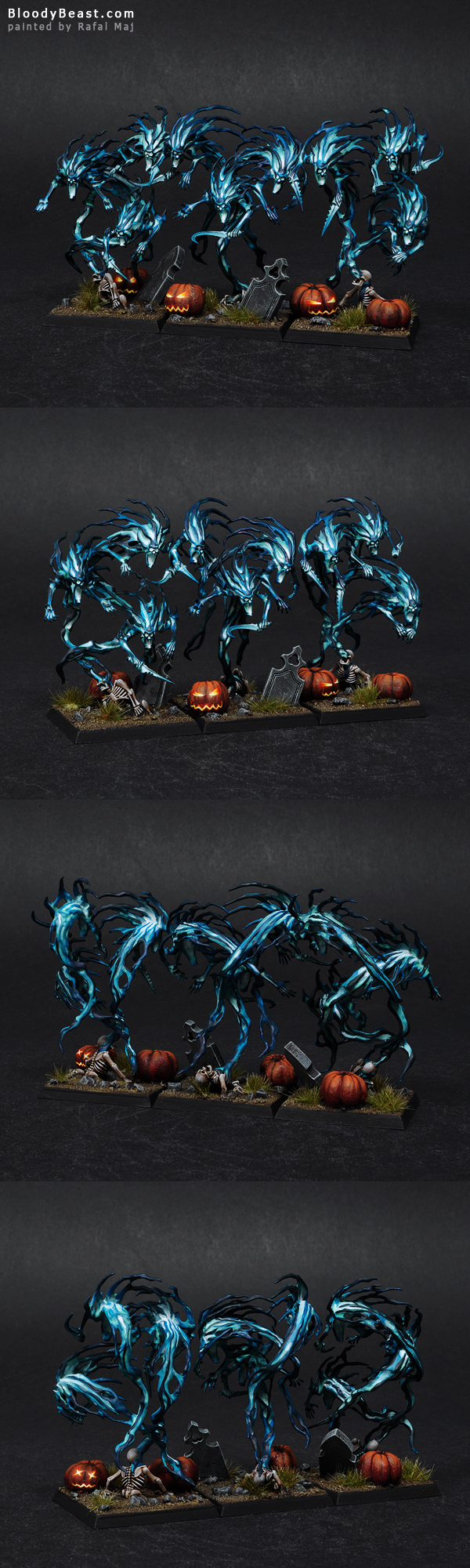 Halloween Spirit Hosts painted by Rafal Maj (BloodyBeast.com)
