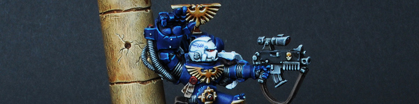 Space Marines Ultramarines Sergeant