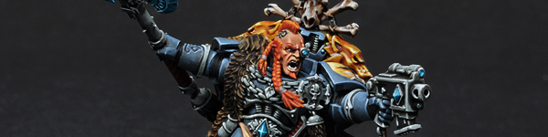 Space Wolves Krom Dragongaze