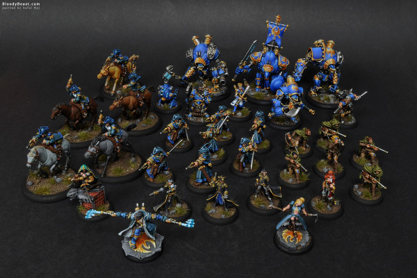 Cygnar Army painted by Rafal Maj (BloodyBeast.com)