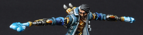 Cygnar Captain Allister Caine