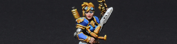 Cygnar Female Journeyman Warcaster
