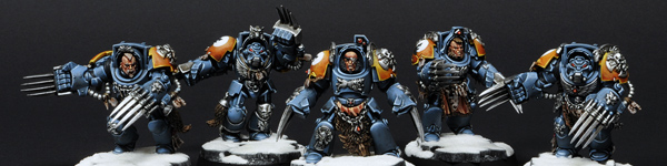 Space Wolves Wolf Guards With Wolf Claws