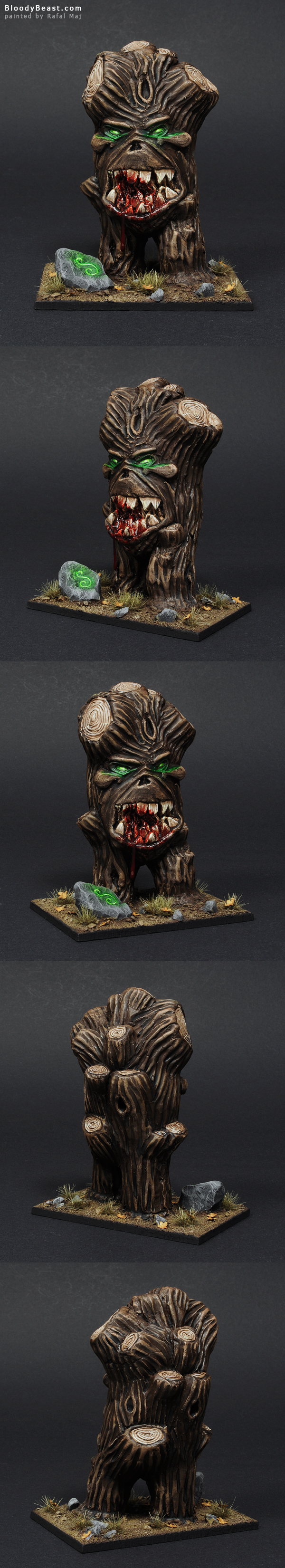 BloodyBeast Treeman painted by Rafal Maj (BloodyBeast.com)