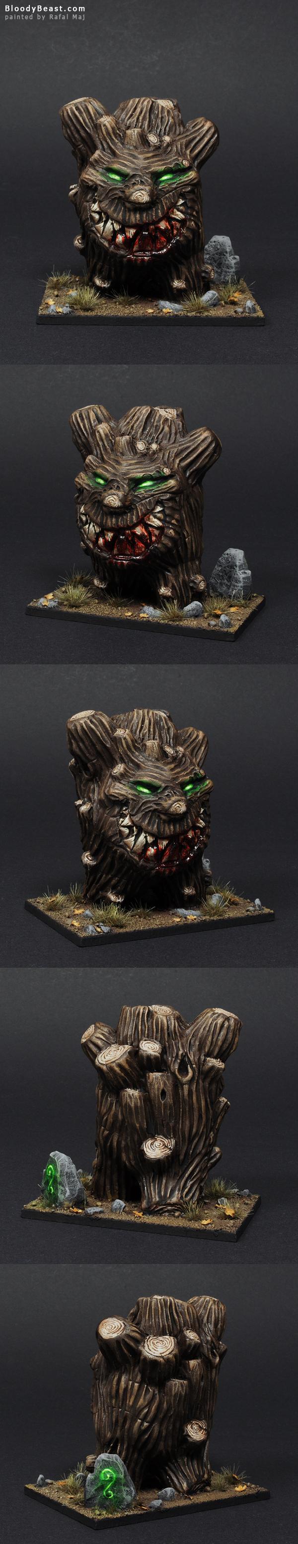 BloodyBeast Treeman painted by Rafal Maj (BloodyBeast.com)