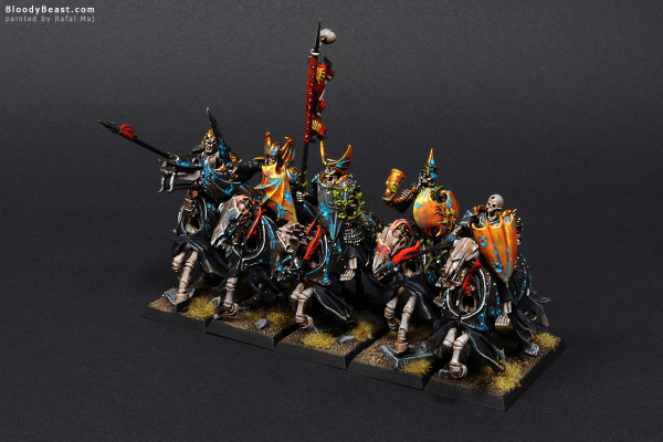 Black Knights Rank One painted by Rafal Maj (BloodyBeast.com)