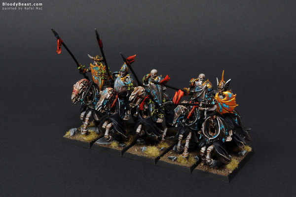 Black Knights Rank Two painted by Rafal Maj (BloodyBeast.com)