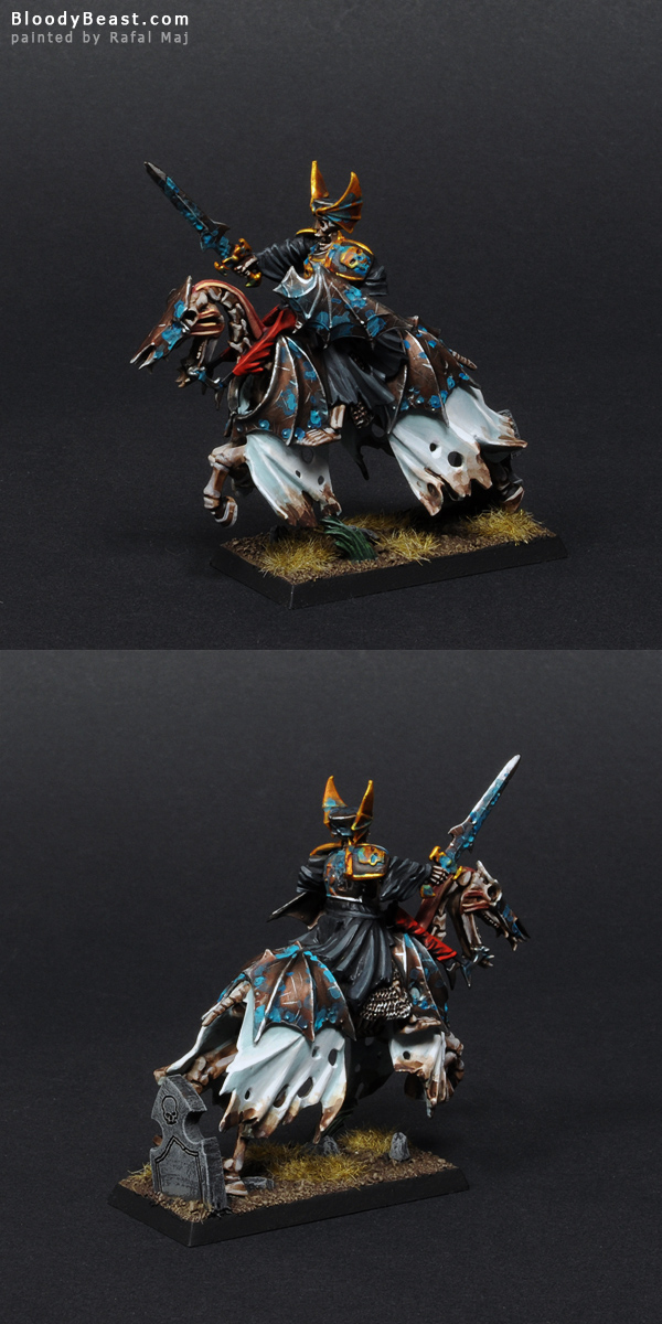 Black Knights Hell Knight painted by Rafal Maj (BloodyBeast.com)