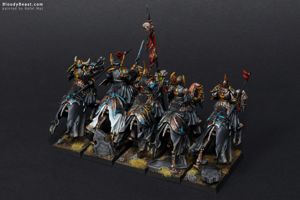 Black Knights Back painted by Rafal Maj (BloodyBeast.com)
