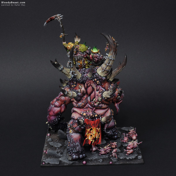 The Glottkin painted by Rafal Maj (BloodyBeast.com)