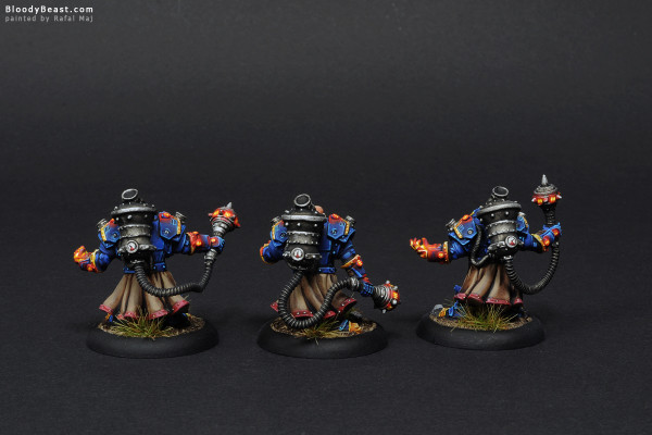 Tactical Arcanist Corps Back painted by Rafal Maj (BloodyBeast.com)