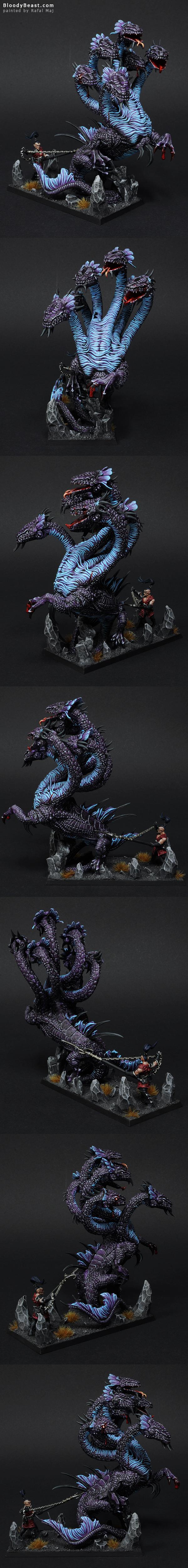 Dark Elves War Hydra