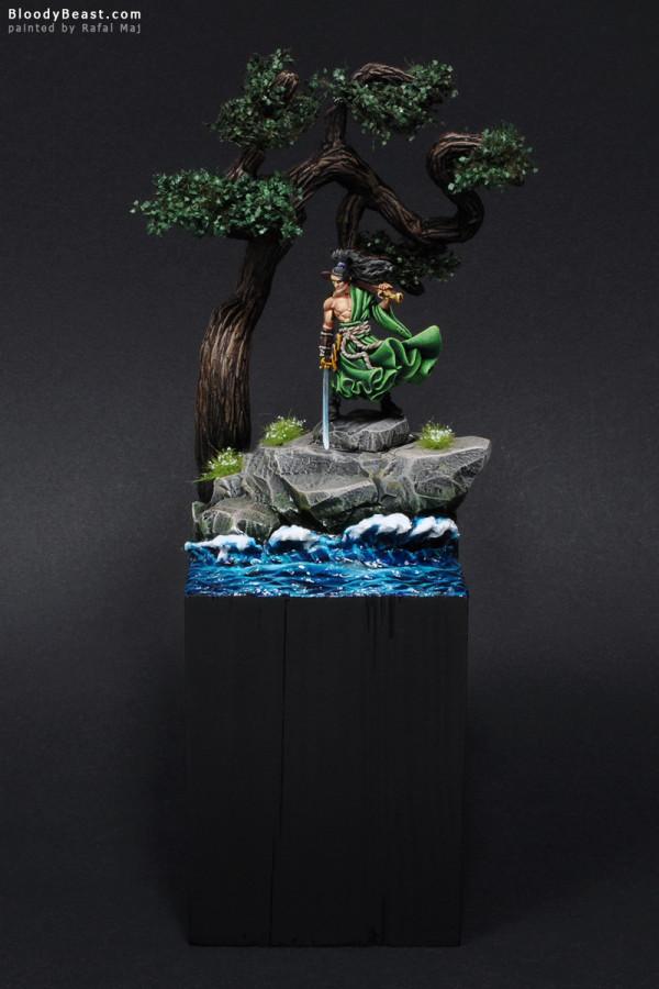 Kenjiro Ronin painted by Rafal Maj (BloodyBeast.com)