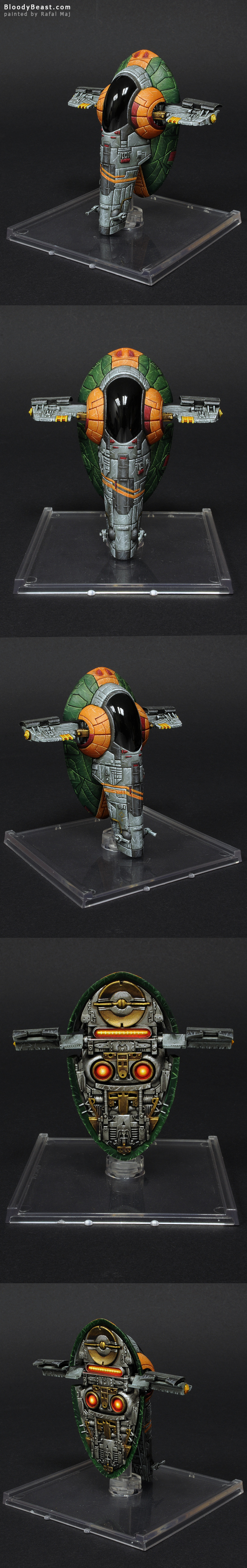 X-Wing Slave I painted by Rafal Maj (BloodyBeast.com)