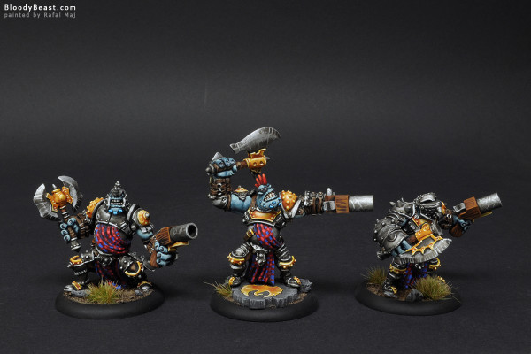 Greygore Boomhowler & Co. painted by Rafal Maj (BloodyBeast.com)
