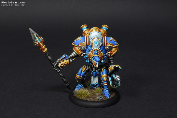 Cygnar Dynamo painted by Rafal Maj (BloodyBeast.com)