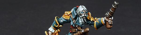 Captain Razig, Undead Pirate