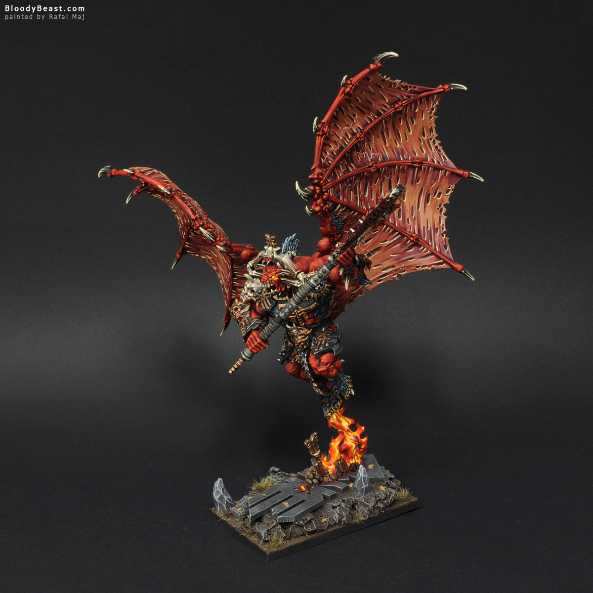 Bloodthirster Painted Grey