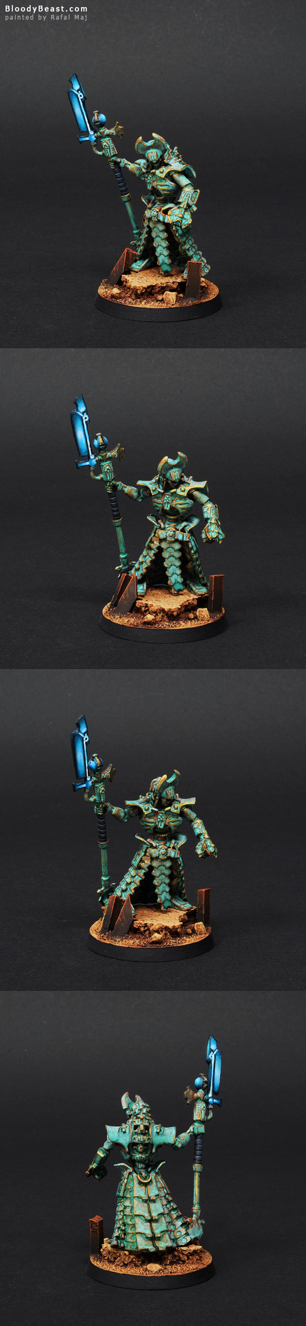 Anrakyr The Traveller painted by Rafal Maj (BloodyBeast.com)