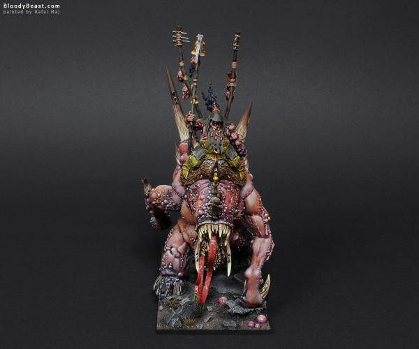Maggoth Lord Bloab Rotspawned painted by Rafal Maj (BloodyBeast.com)