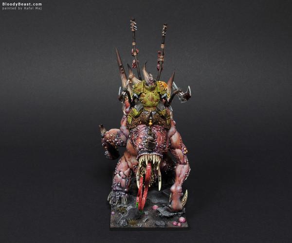 Maggoth Lord Orghotts Daemonspew painted by Rafal Maj (BloodyBeast.com)