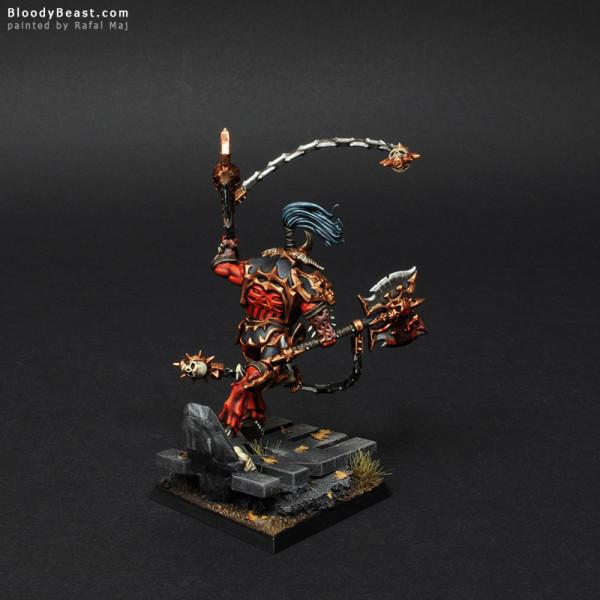 Skarr Bloodwrath painted by Rafal Maj (BloodyBeast.com)